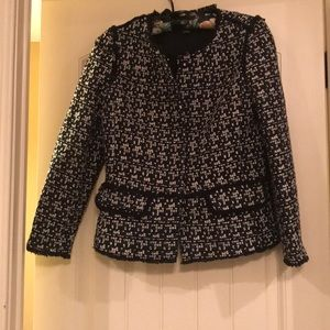 Ann Taylor Tweed Suit Size Small